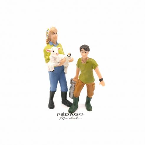 "Figurine ""à la chèvrerie"""