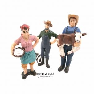 "Figurines ""à la ferme"""