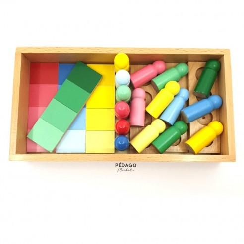 Le coffret d'apprentissage des couleurs