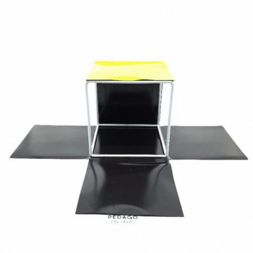 Le patron 3D d'un cube