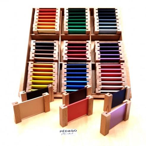 Le grand nuancier de couleurs Montessori